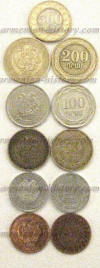 Today's Armenian coins (coinage)