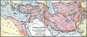 Achaemenid Empire at its Greatest Extend - Ancient World Maps