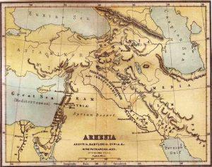 Armenia Assyria Babylonia Syria - Ancient World Maps