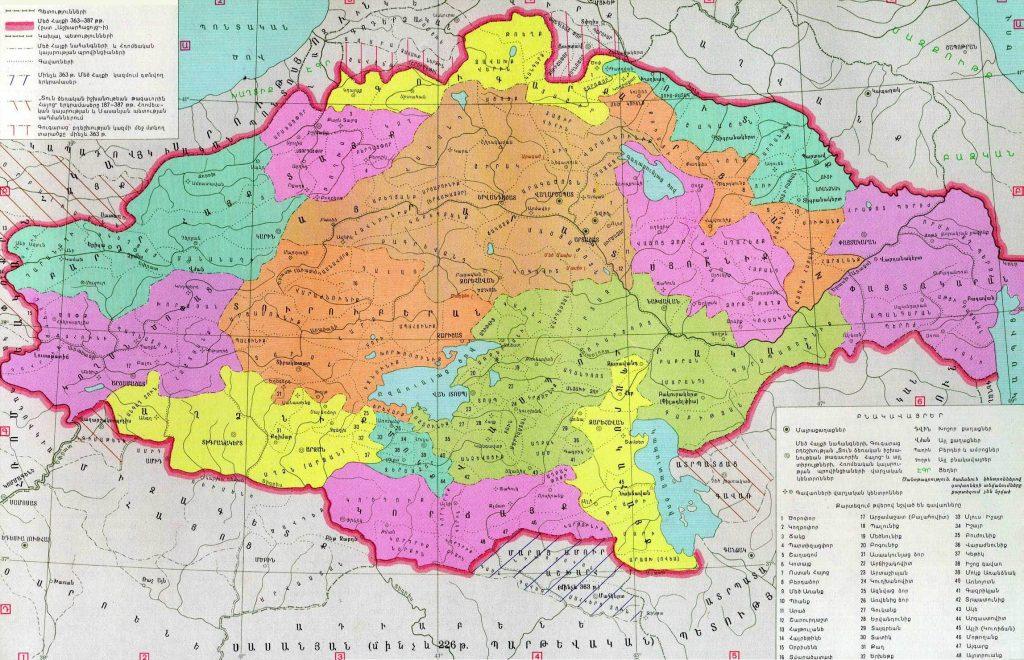 Vaspurakan Province of Great Armenia
