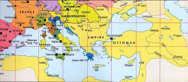 The Ottoman Empire in the 17th century