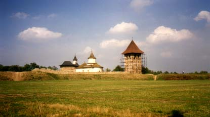 The monastery of Zamca/Sourp Oxan, in Suceava, the residence of Armenian bishops. First mentioned in 1415.