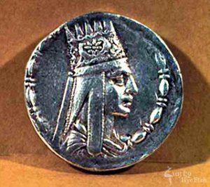 Tigran II - silver coin