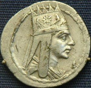 Tigran II - golden coin