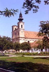 The main Armenian Catholic church in Elisabethopol/Dumbraveni