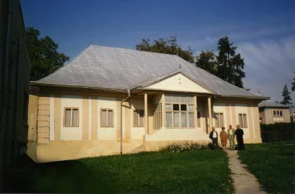 Suceava. The Armenian priest's house near the church of the Holy Cross.
