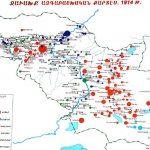 Demographic map of Samtskhe-Javakkh 1914