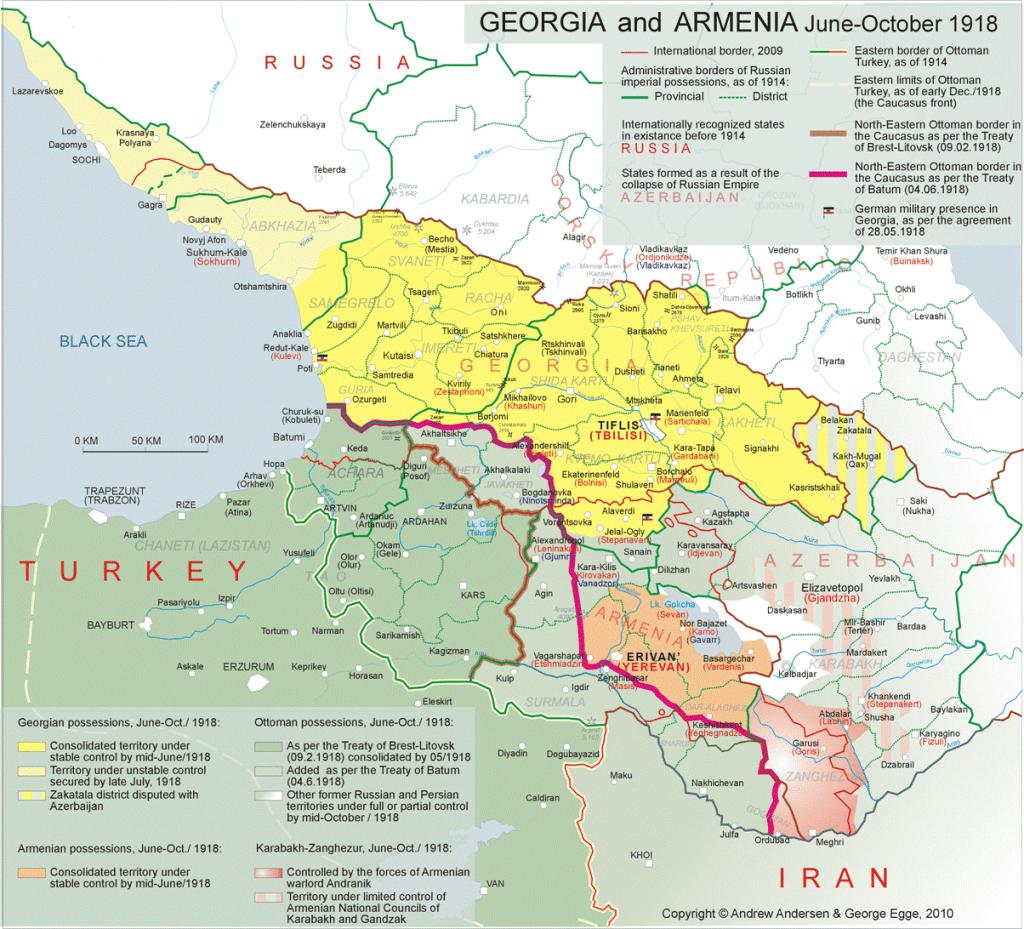 Armenia June-October-1918