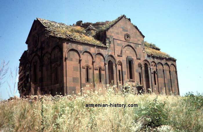 Ani Cathedral, Asdvadzadzin - Mother Church  Also known as Surp Asdvadzadzin