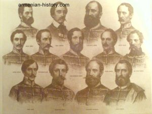 The Armenian heroes of the Hungarian war of independence in 1848-49