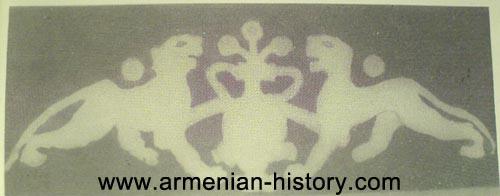 Bagratid Armenian dynasty flag