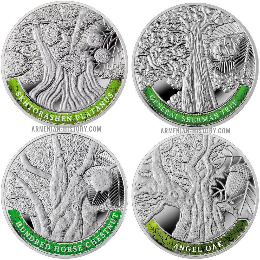 silver coins-armenian-history
