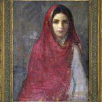 """Armenian Girl"" Date of Work: 1930. By Hovsep Pushman"