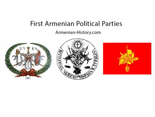 First Armenian Political Parties