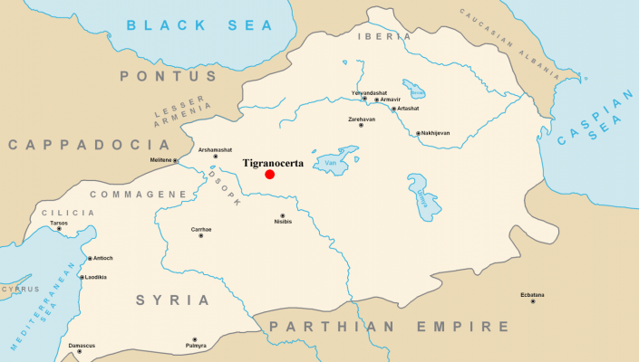 Tigranakert (Tigranocerta) - Capital of Armenia